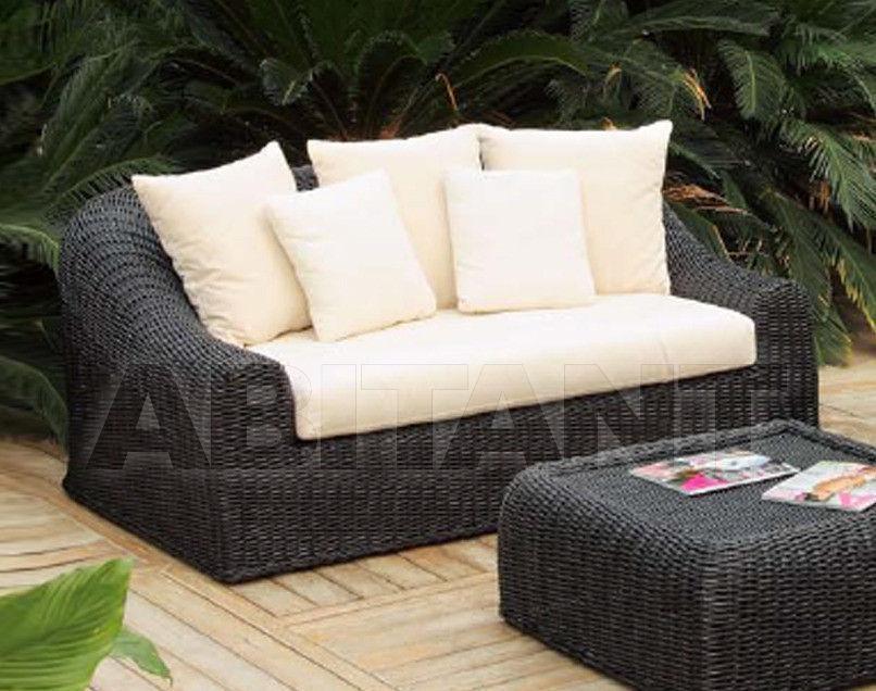 Купить Диван для террасы Frigerio Carlo Rattan Living PALLADIO 2 seater sofa
