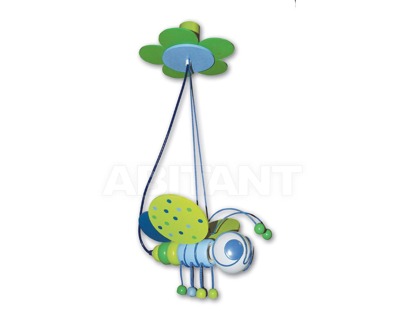Купить Светильник для детской  Waldi Leuchten Lampen Fur Kinder 2012 90120.2 blau/grün