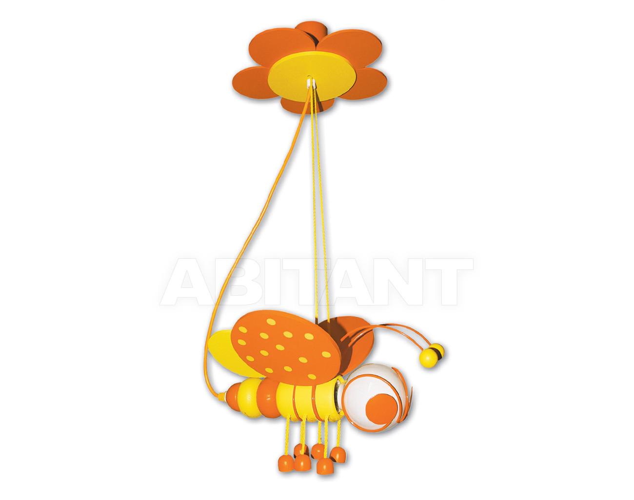 Купить Светильник для детской  Waldi Leuchten Lampen Fur Kinder 2012 90123.2 gelb/orange