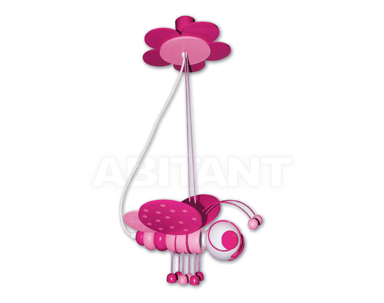 Купить Светильник для детской  Waldi Leuchten Lampen Fur Kinder 2012 90126.2 rosa/pink