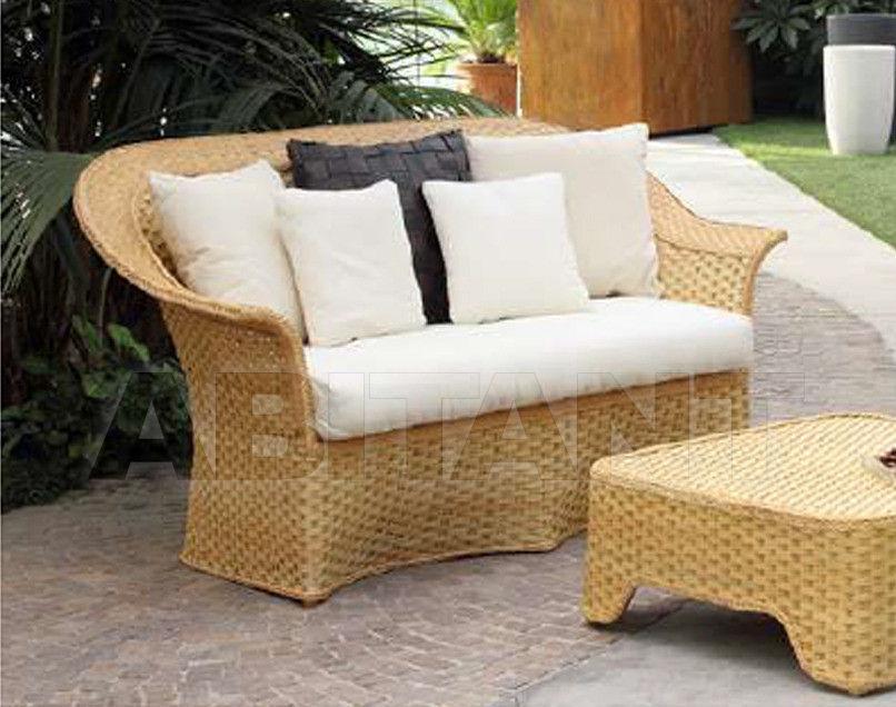 Купить Диван для террасы Frigerio Carlo Funny Wicker DORA 2 seater sofa