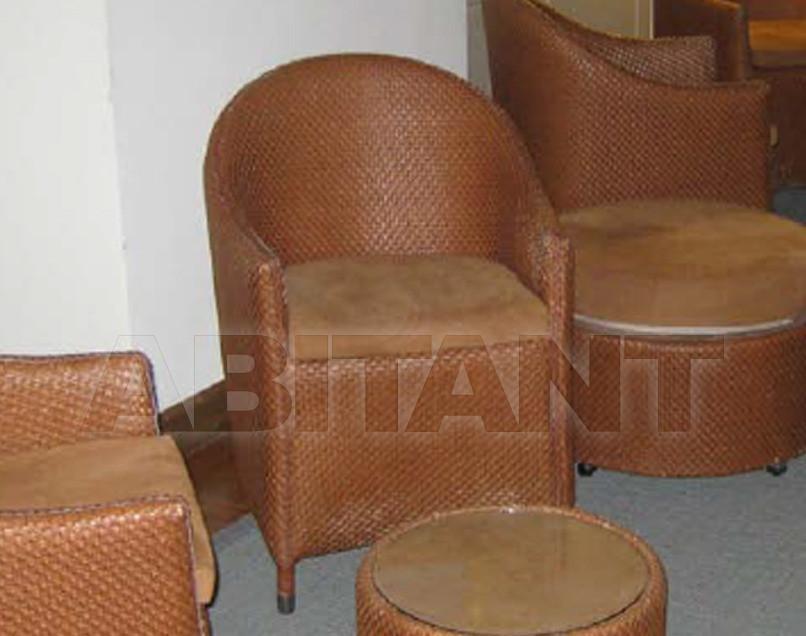 Купить Кресло для террасы Frigerio Carlo Rattan Living SUNSET armchair