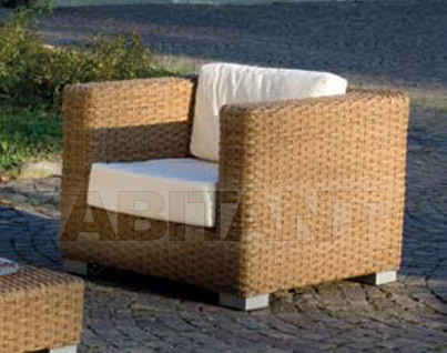 "Купить Кресло для террасы Frigerio Carlo Rattan Living TOM armchair ""ginger""style"