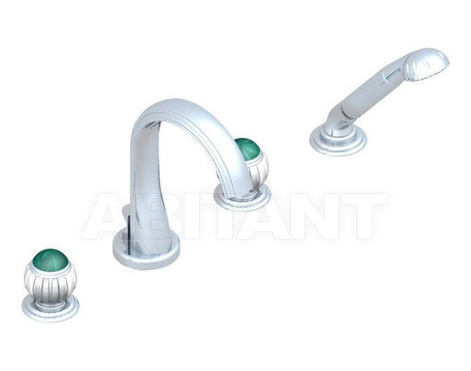 Купить Смеситель для ванны THG Bathroom A8M.112B Vogue Malachite