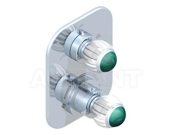 Купить Смеситель термостатический THG Bathroom A8M.5500B Vogue Malachite