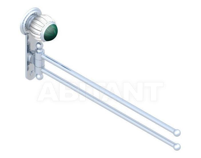 Купить Держатель для полотенец THG Bathroom A8M.522 Vogue Malachite