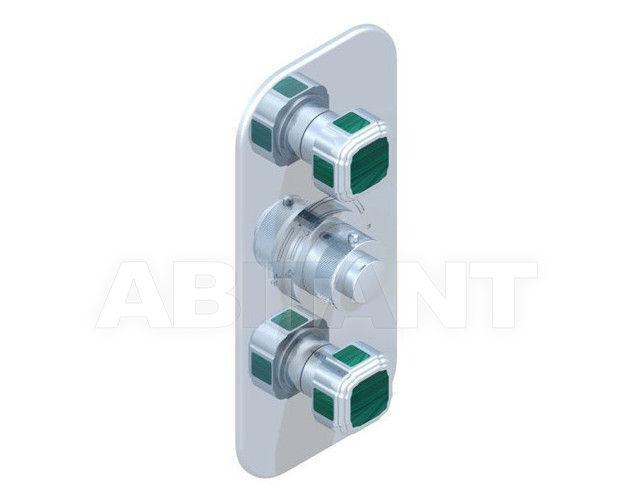 Купить Смеситель термостатический THG Bathroom A3N.5400B Venezia Malachite