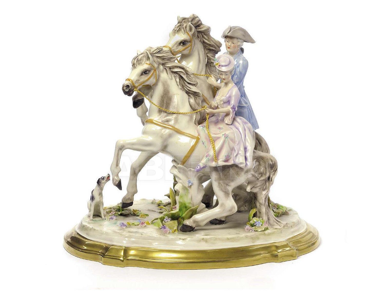 Купить Статуэтка IMPRUDENT KNIGHTS Villari Capodimonte T.01802-002 2