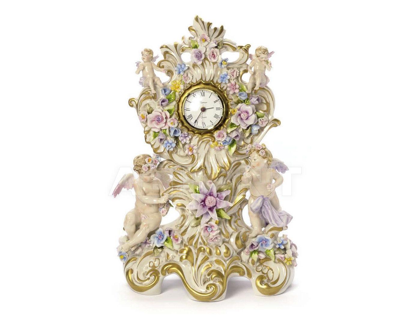 Купить Часы настольные VERSAILLE CLOCK Villari Capodimonte T.01737-002