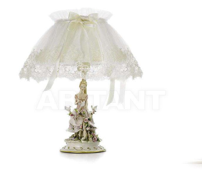 Купить Лампа настольная THE LITTLE LADY Villari Capodimonte T.00061-002