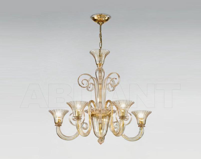 Купить Люстра Sylcom s.r.l. Segno 1388/5 CR.ORO