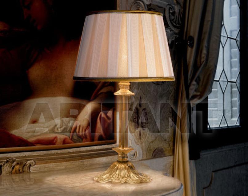 Купить Лампа настольная Sylcom s.r.l. 2009 1476 CP PA-PO CR ORO