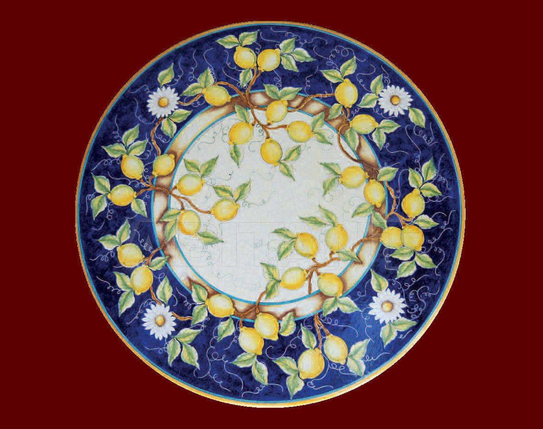 Купить Топ Domiziani Classic Sun sun 127 blu 80 x 80