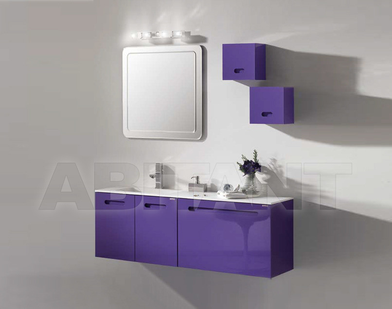 Купить Композиция Sanchis Muebles De Bano S.L. Onix SET OF 140 CM DEPTH 46 CM COLOUR- LILAC