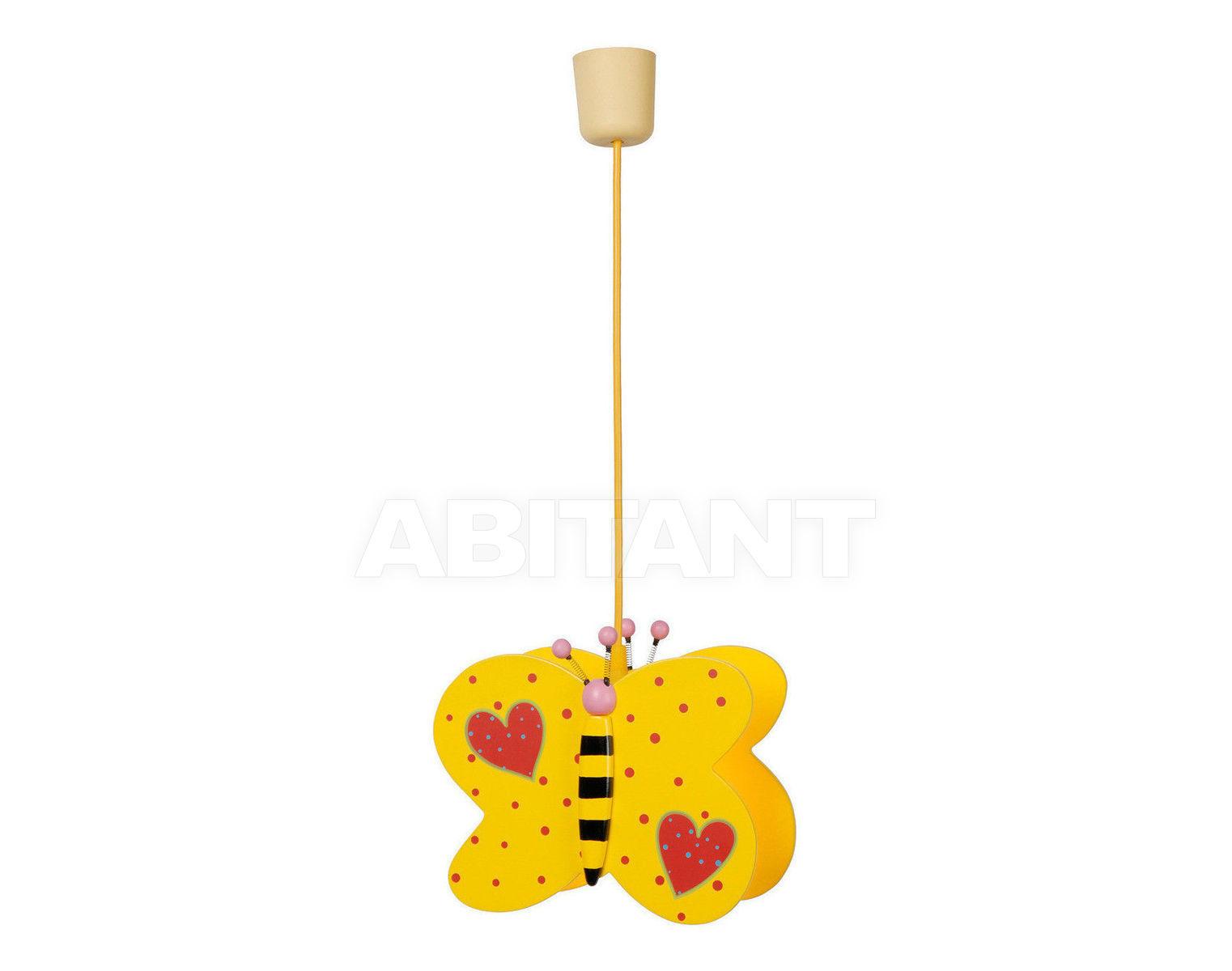 Купить Светильник для детской BUTTERFLY Lucide  Kids 77451/01/34
