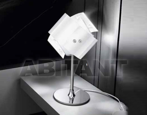 Купить Лампа настольная Gea Luce srl Gea aura L bianco-moka