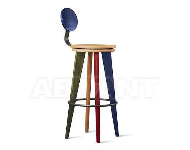 Купить Барный стул Altura Furniture 2013 Top Stool-01 со спинкой / NATURAL 3