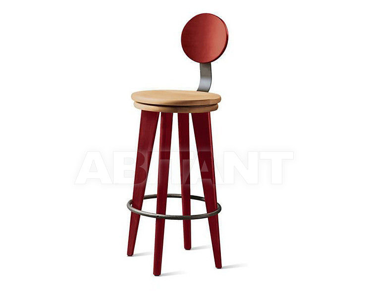 Купить Барный стул Altura Furniture 2013 Top Stool-02 со спинкой / NATURAL 2