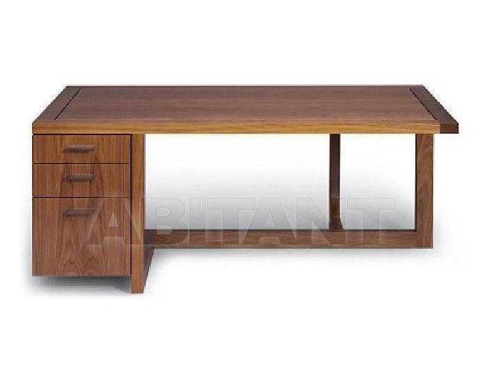 Купить Стол письменный Altura Furniture 2013 Offset 66' / NATURAL 2