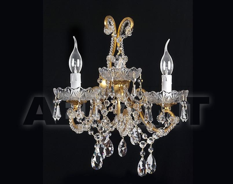 Купить Светильник настенный Due Effe lampadari Applique Maria Teresa A-2/L