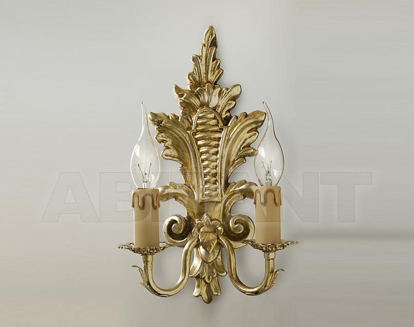Купить Светильник настенный Due Effe lampadari Applique Foglia A-2/L
