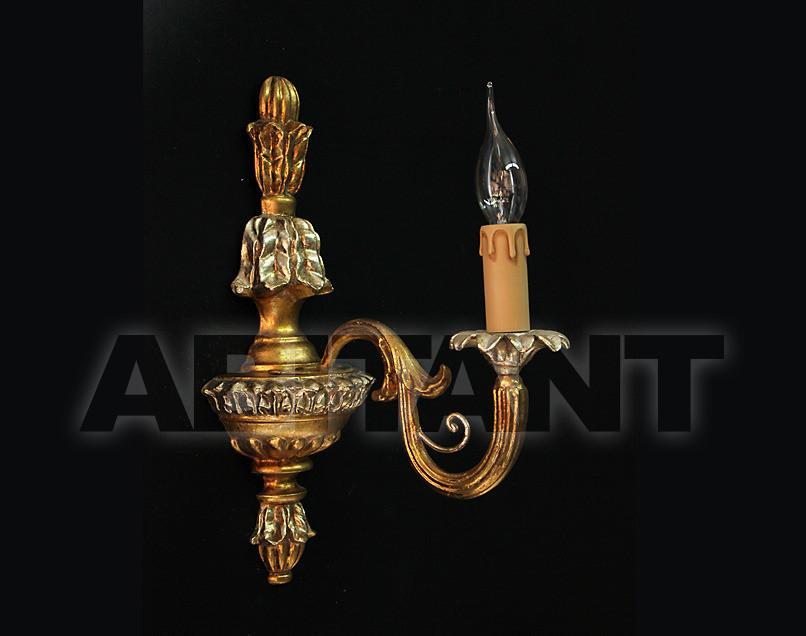 Купить Светильник настенный Due Effe lampadari Applique Lucia A-1/L