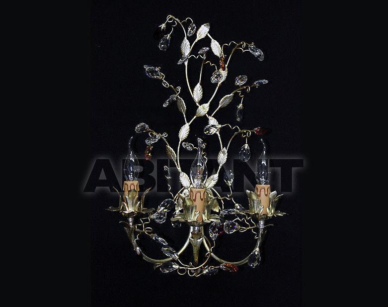 Купить Светильник настенный Due Effe lampadari Applique Sissi A-3/L