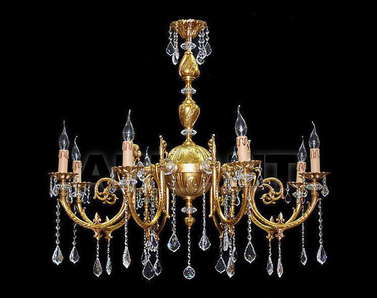 Купить Люстра Due Effe lampadari Lampadari Impero Miriam/8L baccarat