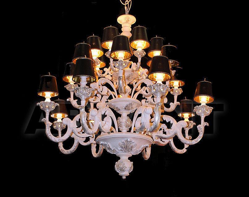 Купить Люстра Due Effe lampadari Lampadari 3000/8+8+8+L con paralumi 2