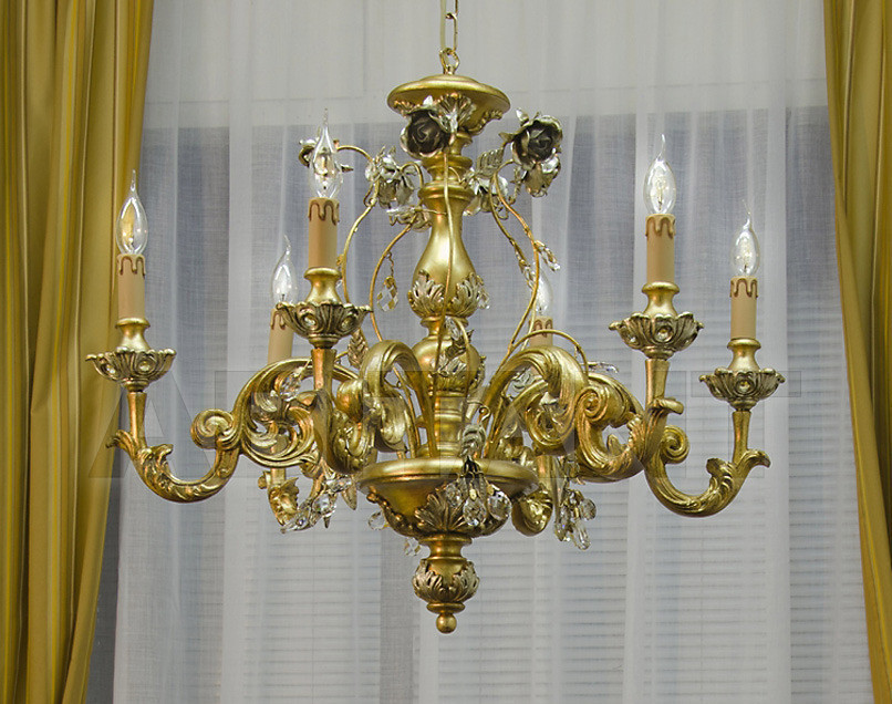 Купить Люстра Due Effe lampadari Lampadari 3000 Rose/6L
