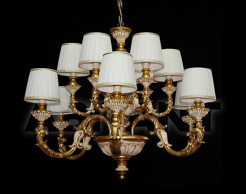 Купить Люстра Due Effe lampadari Lampadari Bacelli/6+6L con paralumi