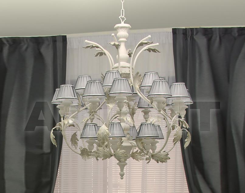 Купить Люстра Due Effe lampadari Lampadari Teseo/24L con paralumi 2
