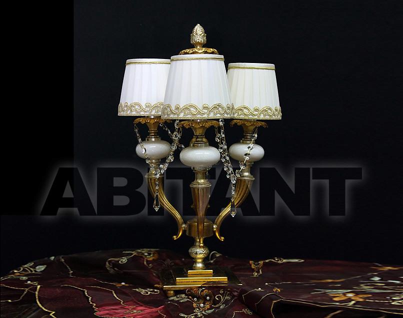 Купить Лампа настольная Due Effe lampadari Lumi Virginia/3L Flambo