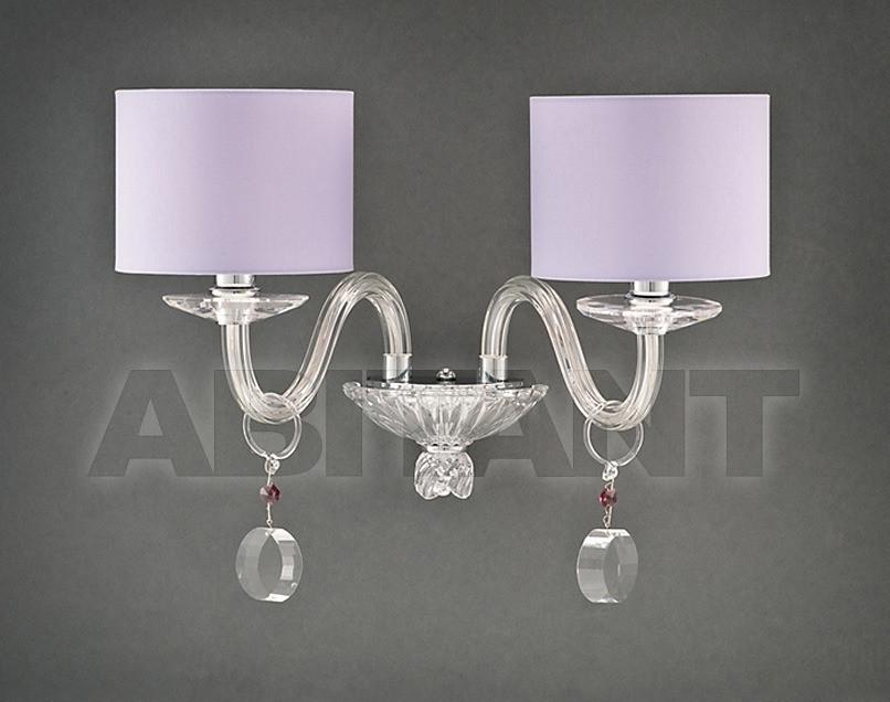 Купить Бра Due Effe lampadari Applique MARTINA A/2 CON PARALUMI LILLA
