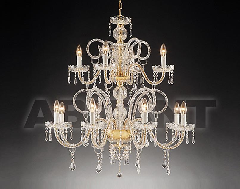 Купить Люстра Due Effe lampadari Lampadari 1301 8+4/L