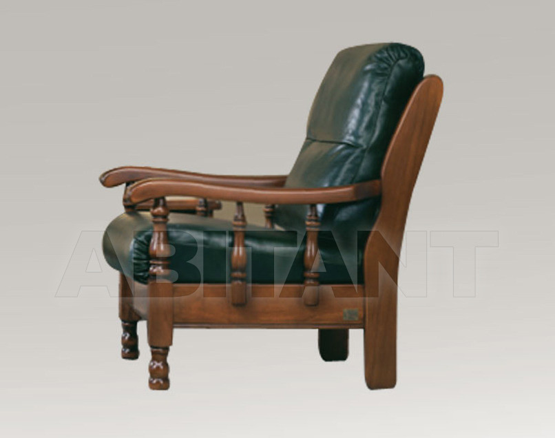 Купить Кресло Trading Sofas s.r.l. by G.M. Italia Divani Rustici Atene  807