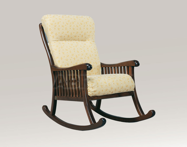 Купить Кресло Trading Sofas s.r.l. by G.M. Italia Divani Rustici Minosse Dondolo 102