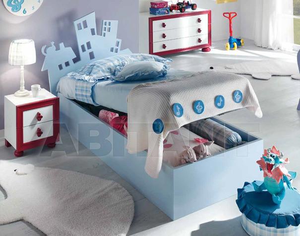 Купить Кровать детская BL Mobili I Colori Dei Sogni 1229/CO