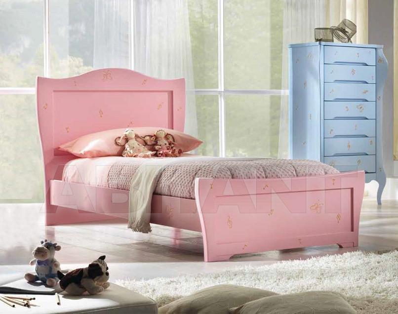 Купить Кровать детская BL Mobili I Colori Dei Sogni 1206