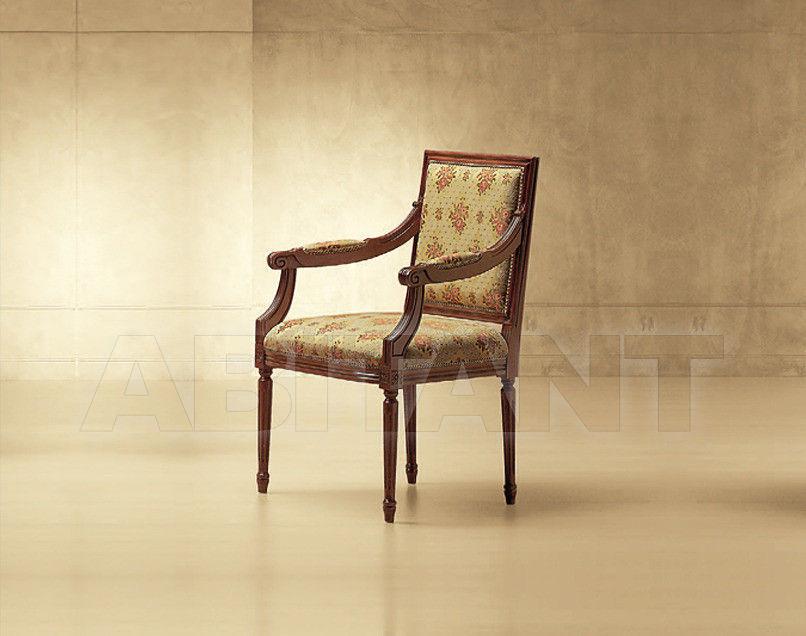 Купить Стул с подлокотниками Luigi XVI Morello Gianpaolo Red 421/K