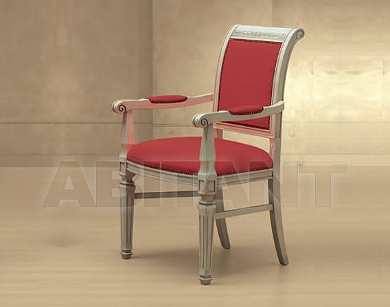 Купить Стул с подлокотниками Greca Morello Gianpaolo Red 376/K