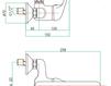 Смеситель для раковины Fiore Aqua 39 CR 4296 Современный / Скандинавский / Модерн