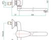 Смеситель для раковины Fiore Aqua 43 CR 4230 Современный / Скандинавский / Модерн