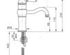 Смеситель для раковины Nicolazzi Aqua 3471 CR 76 Современный / Скандинавский / Модерн