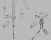 Смеситель для раковины MGS Minimal Beauty 2012 0262MB238B Современный / Скандинавский / Модерн
