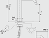 Смеситель для кухни MGS Cucina 014645238B Современный / Скандинавский / Модерн