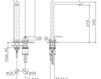 Смеситель для раковины Dornbracht Lot 32 843 680 Современный / Скандинавский / Модерн