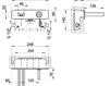 Смеситель для раковины Gessi Spa Bathroom Collection 2012 30988 031 Хром Современный / Скандинавский / Модерн