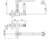 Смеситель для раковины Cezares Rubinetteria LVPFRS103800 Современный / Скандинавский / Модерн