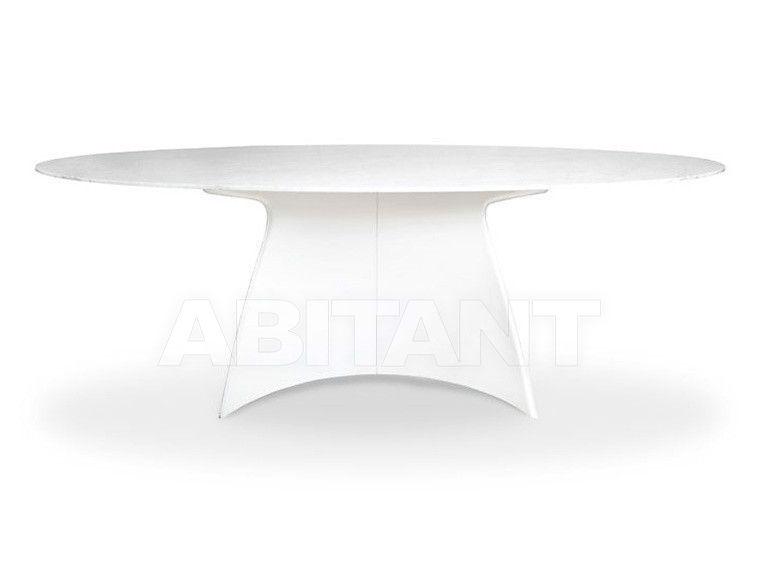 Купить Стол обеденный Serico sas Iralian Furniture Leather  Tavoli Oban TAVOLI
